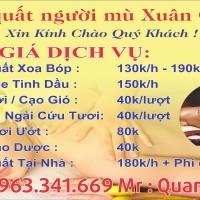 Tẩm quất thân thiện,nhiệt tình,chu đáo,tay nghề cao ở Hà Nội